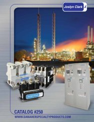 Joslyn Clark Full Catalog - Danaher Specialty Products