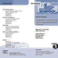 Adipositas, metabolisches Syndrom und bariatrische Chirurgie ...