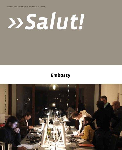 Corporate Design 33% >> Unerwartetes 01% - Embassy