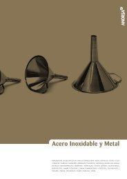 Acero Inoxidable y Metal - ANORSA