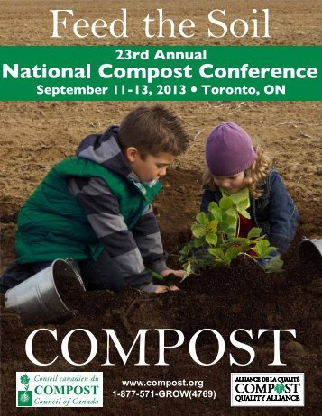Agenda - Compost Council of Canada