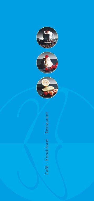 Cafékarte als PDF laden - Hotel Neuer am See