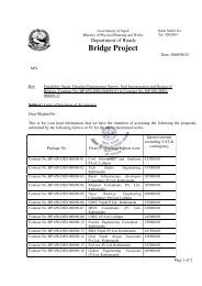 Bridge Project - About Department of Road