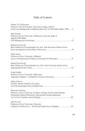 Table of Contents - Gieseking Verlag