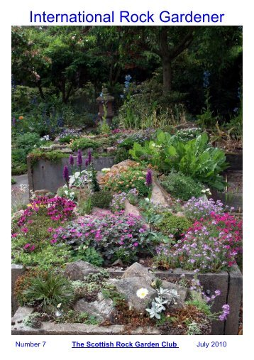 International Rock Gardener - Scottish Rock Garden Club