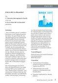 Sprachrohr Heft 52 - Juni 2010 - Deutsche Gesellschaft für Akustik eV - Page 2