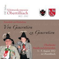 Sonntag, 5. August 2012 - Bund der Tiroler Schützenkompanien