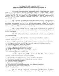 Portaria nº 202, de 22 de junho de 2012 - Inep