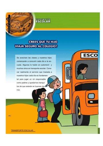 Transporte escolar - Colección educ.ar