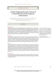 Soluble Triggering Receptor Expressed on Myeloid ... - ResearchGate