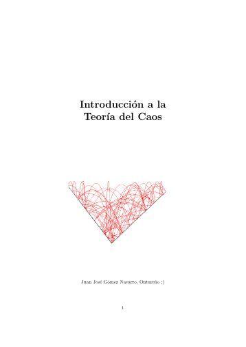 Introducción a la teoría del Caos - Un cacho de ciencia