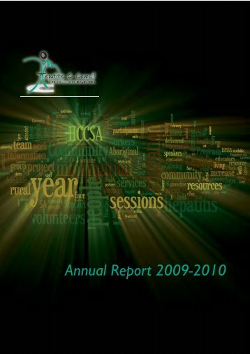 Annual Report 09-10 - Hepatitis SA