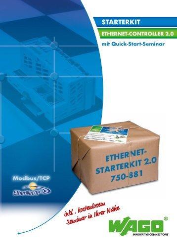 ETHERNET Starterkit 750-881 - Wago