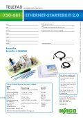 ETHERNET Starterkit 750-881 - Wago - Seite 2