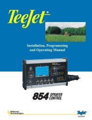 TeeJet 854 Operating Manual_98-05051 R1