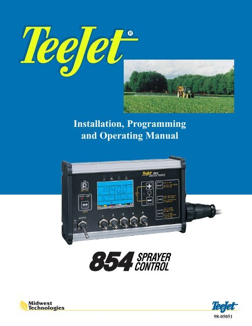 Manuals | teejet® technologies.
