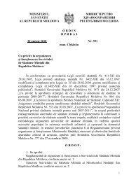 Ordin Nr. 591 din 20.08.2010 cu privire la organizarea şi ...