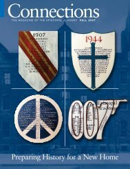 Preparing History for a New Home - Episcopal Academy