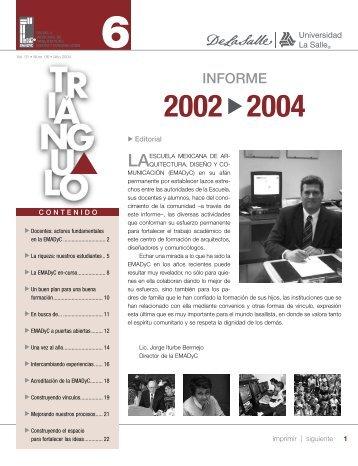 informe - Facultad Mexicana de Arquitectura, Diseño y Comunicación