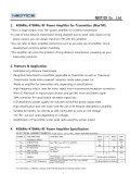 400MHz-470MHz RF Power Amplifier - Seite 2