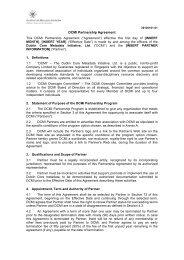 DCMI Partnership Agreement - Dublin Core® Metadata Initiative