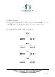 Info-Daten 2012 - Klinik Wysshölzli