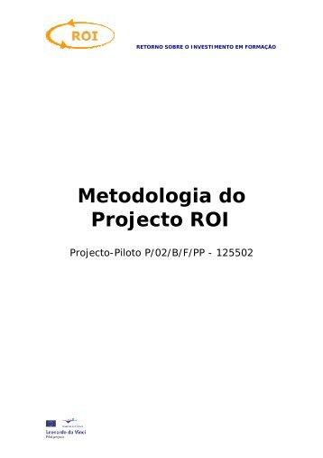 Metodologia de Avaliação ROI - Cecoa