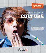 Calendrier des activités Automne 2012 - Accès culture