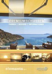 elements Broschüre - Sattler AG