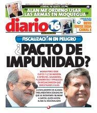 ò alan me ordeno usar las armas en moqueguaó - Diario16