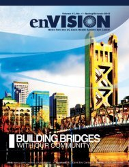 enVISION Spring 2012 - UC Davis Health System