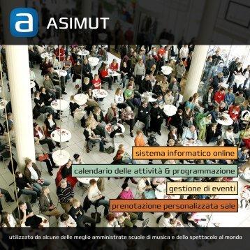 Scarica la nostra brochure quí - ASIMUT software ApS