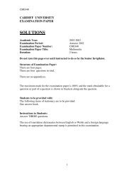 Multimedia BSC Solutions 2003 - Cardiff University