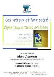 2012 03 10 au 11 - CHAUVEAU Marc.pub - Abbaye de Saint-Jacut ...
