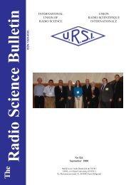 Radio Science Bulletin 326 - September 2008 - URSI