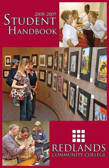Handbook 08.indd - Redlands Community College