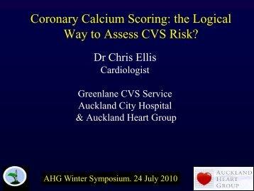 Calcium Scoring - Auckland Heart Group