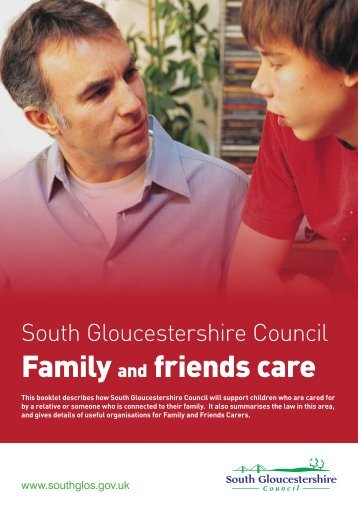 Family and friends care - South Gloucestershire Council