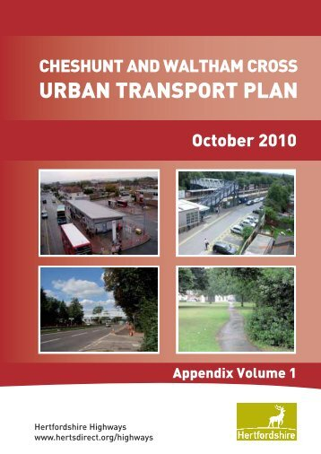URBAN TRANSPORT PLAN - Hertfordshire County Council