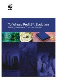To whose profit (ii): Evolution