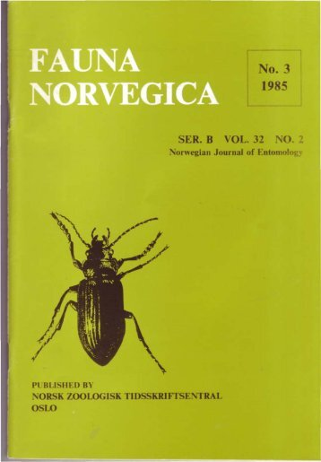Full-text - Norsk entomologisk forening