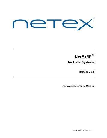 NESi Manual Template - NetEx