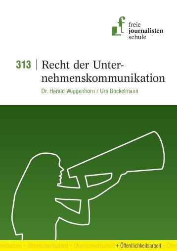 Leseprobe 313 - Freie Journalistenschule
