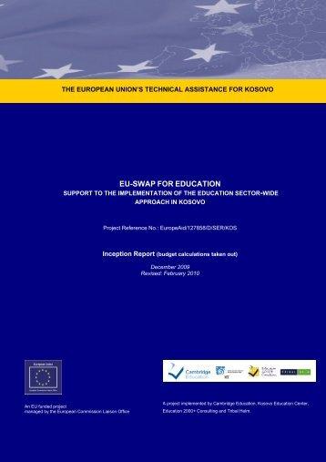 EU-SWAP FOR EDUCATION - EU EDUCATION SWAp Project