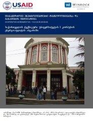 Energy Audit Report of the - Tkibuli Tea