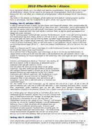 2010 Efterårsferie i Alsace. - Campisternes Rejseportal