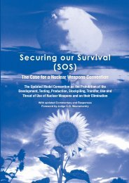 Securing our Survival - Disarmament & Security Centre