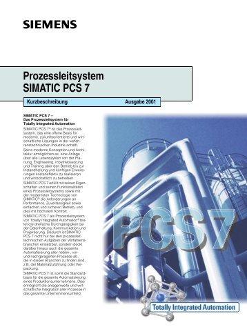 Prozessleitsystem SIMATIC PCS 7 - CERN