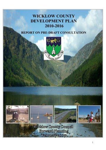 WICKLOW COUNTY DEVELOPMENT PLAN 2010-2016 - Wicklow.ie