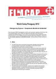 World Camp Paraguay 2012 - Leder